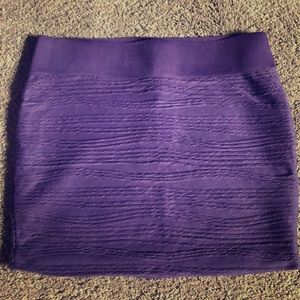 Purple Guess Mini Skirt
